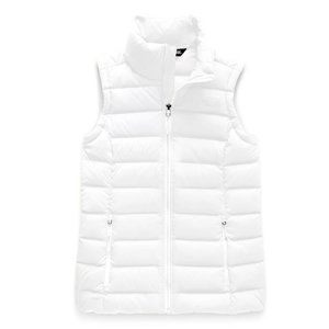 The North Face White Puff Stretch Down Vest S